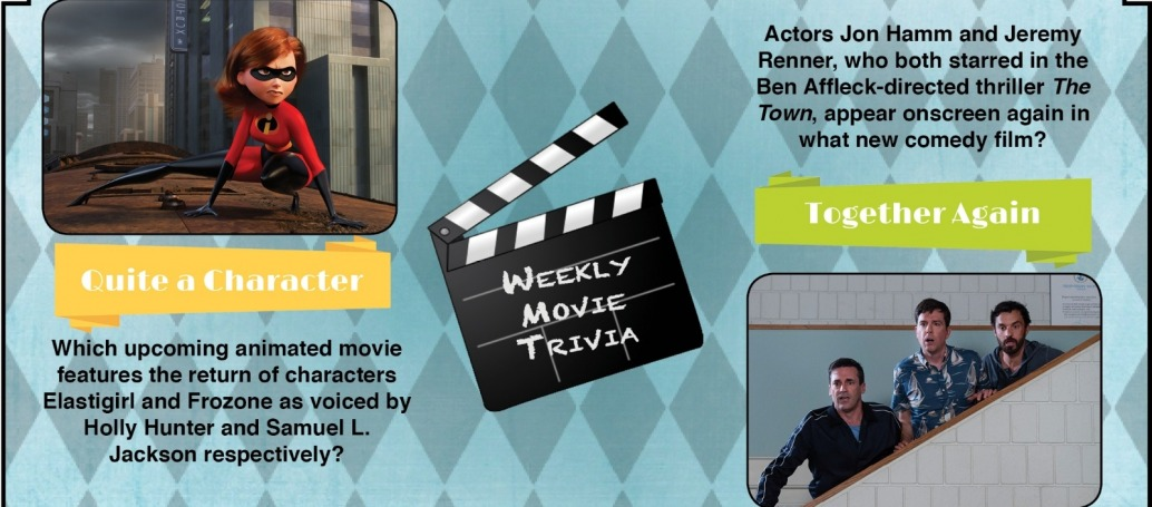 This Week's Movie Trivia   Silver Screen Insider